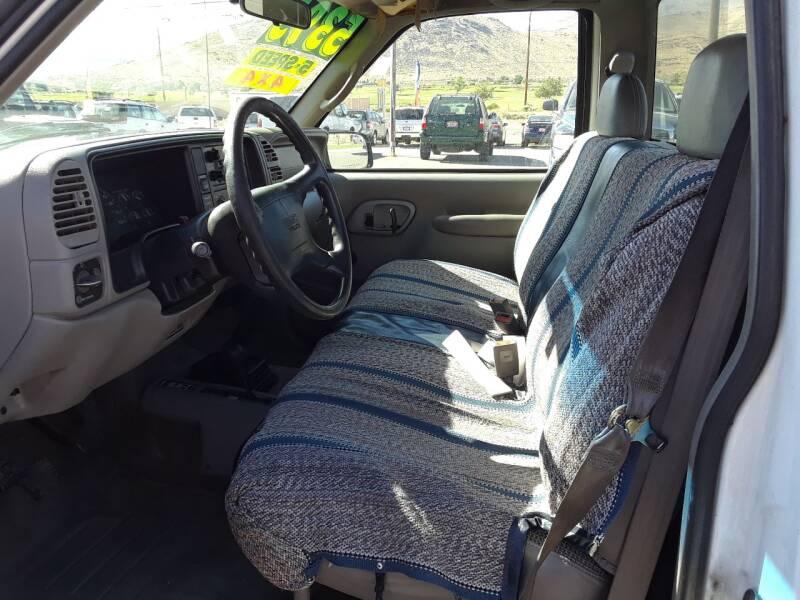1997 GMC Sierra 1500 2dr K1500 SL 4WD Standard Cab LB - Carson City NV