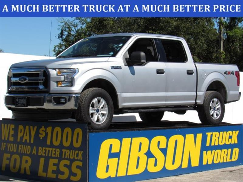 2015 ford f-150 xlt crew cab in sanford fl - gibson truck world