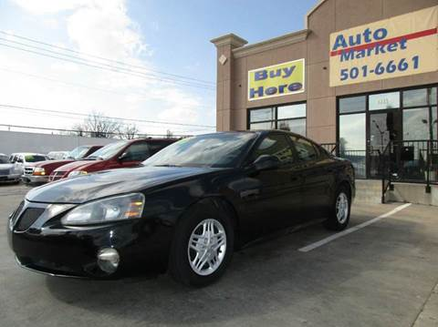 2004 Pontiac Grand Prix for sale at Auto Market in Oklahoma City OK