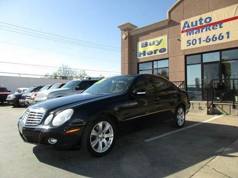 2009 Mercedes-Benz E-Class for sale at Auto Market in Oklahoma City OK