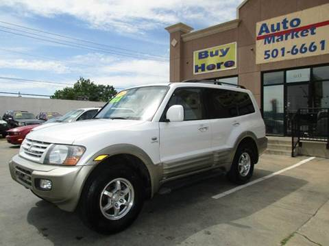 2002 Mitsubishi Montero for sale at Auto Market in Oklahoma City OK