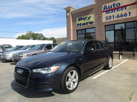 2012 Audi A6 for sale in Oklahoma City, OK