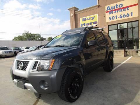 2013 Nissan Xterra for sale in Oklahoma City, OK