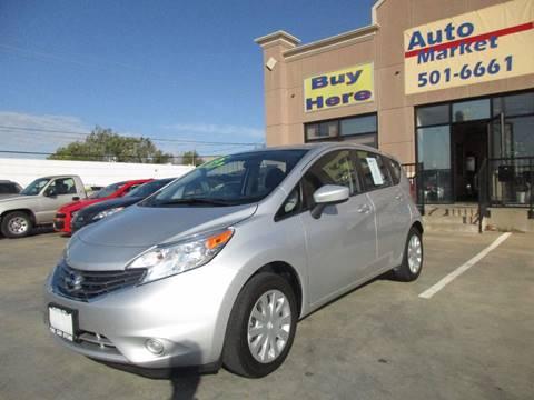 2015 Nissan Versa Note for sale in Oklahoma City, OK