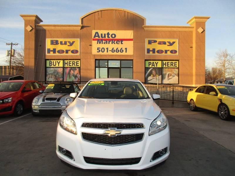 Chevrolet Malibu LT Dr Sedan WLT In Oklahoma City OK - Oklahoma city chevrolet car dealerships
