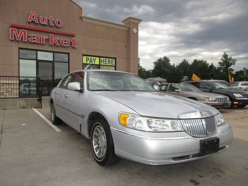 2002 Lincoln Town Car Signature 4dr Sedan In Oklahoma City Ok Auto