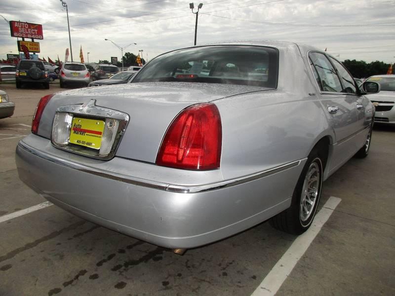 2002 Lincoln Town Car Signature 4dr Sedan In Oklahoma City Ok Auto
