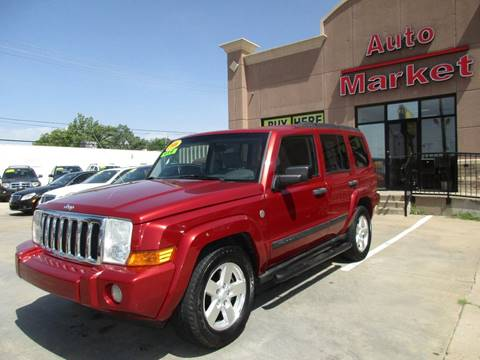 2006 Jeep Commander for sale at Auto Market in Oklahoma City OK