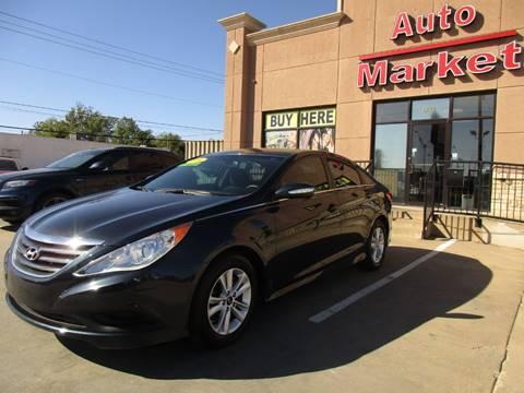 2014 Hyundai Sonata for sale at Auto Market in Oklahoma City OK