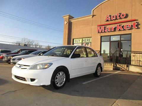2005 Honda Civic for sale in Oklahoma City, OK