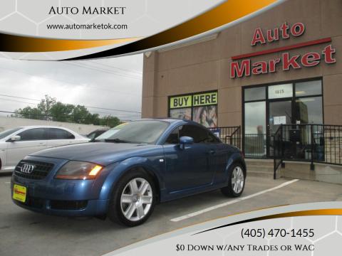 2006 Audi TT for sale at Auto Market in Oklahoma City OK