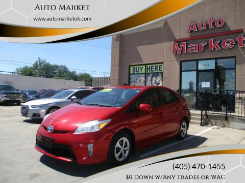 2013 Toyota Prius for sale at Auto Market in Oklahoma City OK