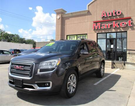 2015 GMC Acadia for sale at Auto Market in Oklahoma City OK