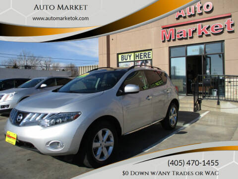 2010 Nissan Murano for sale at Auto Market in Oklahoma City OK