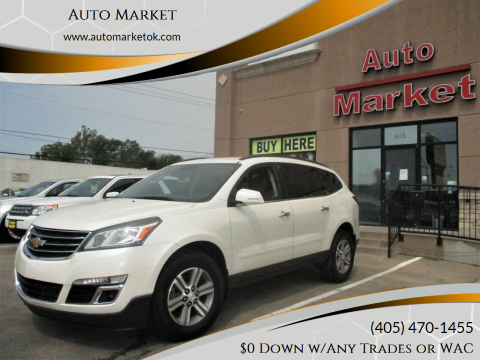2015 Chevrolet Traverse for sale at Auto Market in Oklahoma City OK