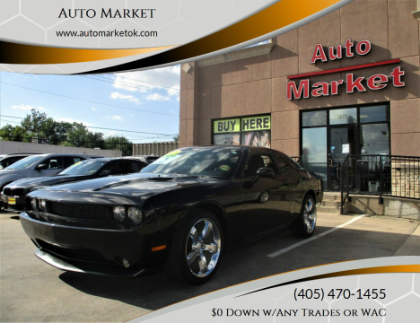2013 Dodge Challenger for sale at Auto Market in Oklahoma City OK
