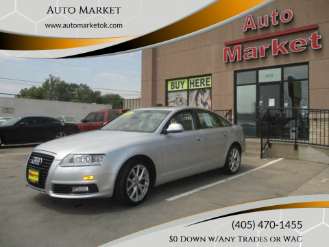 2009 Audi A6 for sale at Auto Market in Oklahoma City OK