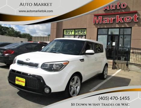 2016 Kia Soul for sale at Auto Market in Oklahoma City OK