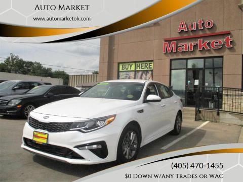 2019 Kia Optima for sale at Auto Market in Oklahoma City OK
