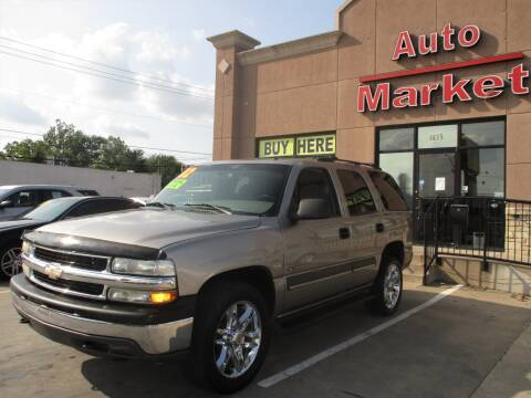 2002 Chevrolet Tahoe for sale at Auto Market in Oklahoma City OK