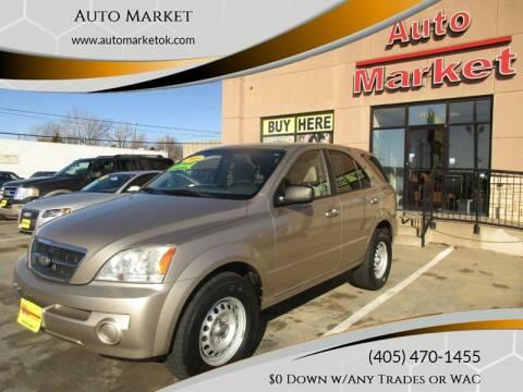 2005 Kia Sorento for sale at Auto Market in Oklahoma City OK
