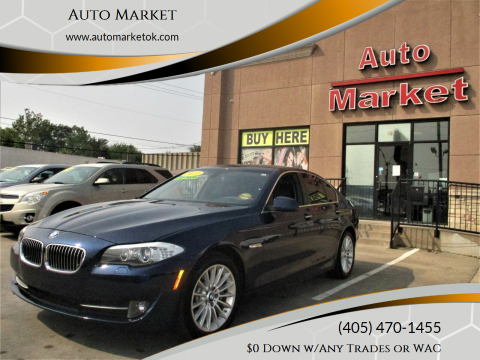 2013 BMW 5 Series for sale at Auto Market in Oklahoma City OK