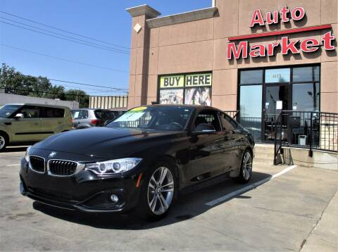 2014 BMW 4 Series for sale at Auto Market in Oklahoma City OK