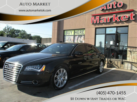 2014 Audi A8 L for sale at Auto Market in Oklahoma City OK