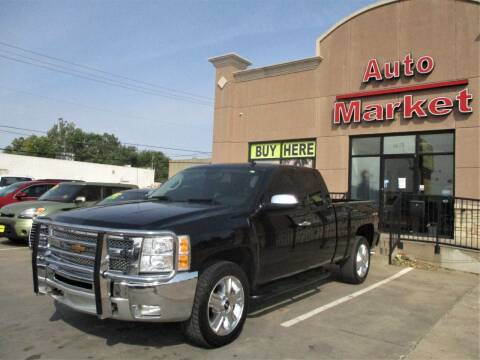 2013 Chevrolet Silverado 1500 for sale at Auto Market in Oklahoma City OK