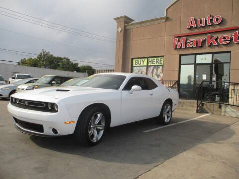 2016 Dodge Challenger for sale at Auto Market in Oklahoma City OK