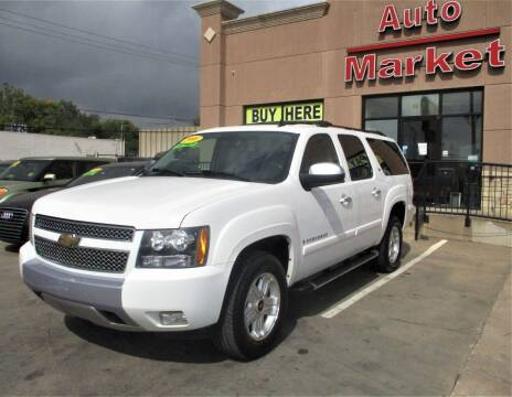 2008 Chevrolet Suburban for sale at Auto Market in Oklahoma City OK