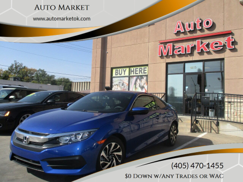 2016 Honda Civic for sale at Auto Market in Oklahoma City OK
