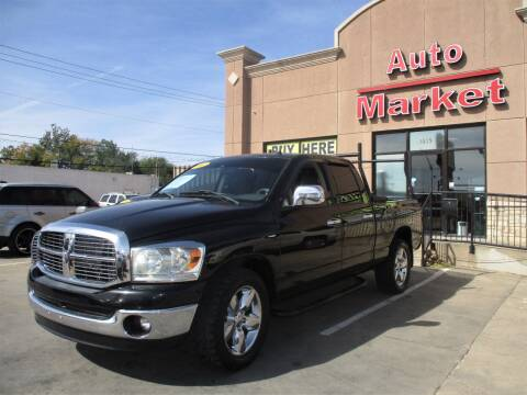 2007 Dodge Ram Pickup 1500 for sale at Auto Market in Oklahoma City OK