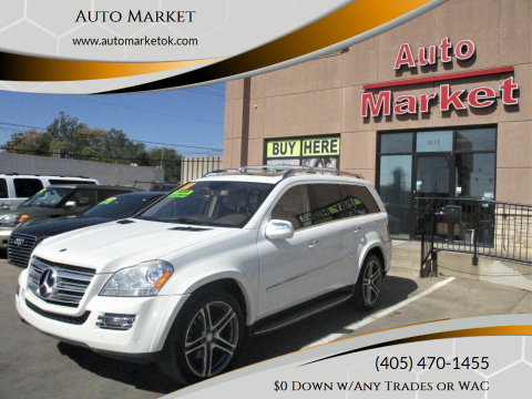 2010 Mercedes-Benz GL-Class for sale at Auto Market in Oklahoma City OK