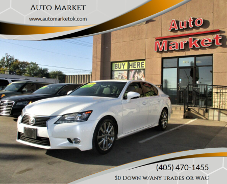 2013 Lexus GS 350 for sale at Auto Market in Oklahoma City OK