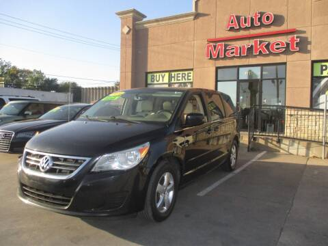 2010 Volkswagen Routan for sale at Auto Market in Oklahoma City OK