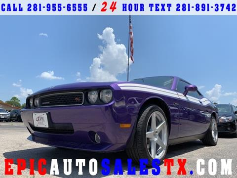 2010 Dodge Challenger for sale in Cypress, TX