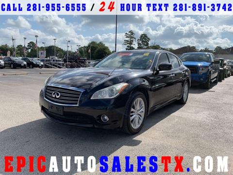 2012 Infiniti M37 for sale in Cypress, TX