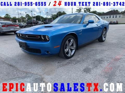 2015 Dodge Challenger for sale in Cypress, TX