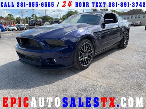 2011 Ford Shelby GT500 for sale in Cypress, TX
