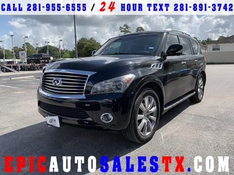 2012 Infiniti QX56 for sale in Cypress, TX