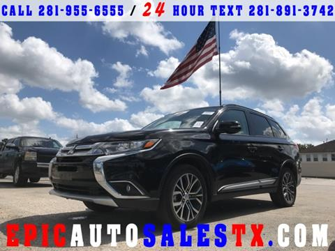 2016 Mitsubishi Outlander for sale in Cypress, TX