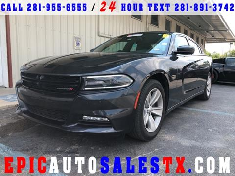 2016 Dodge Charger for sale in Cypress, TX