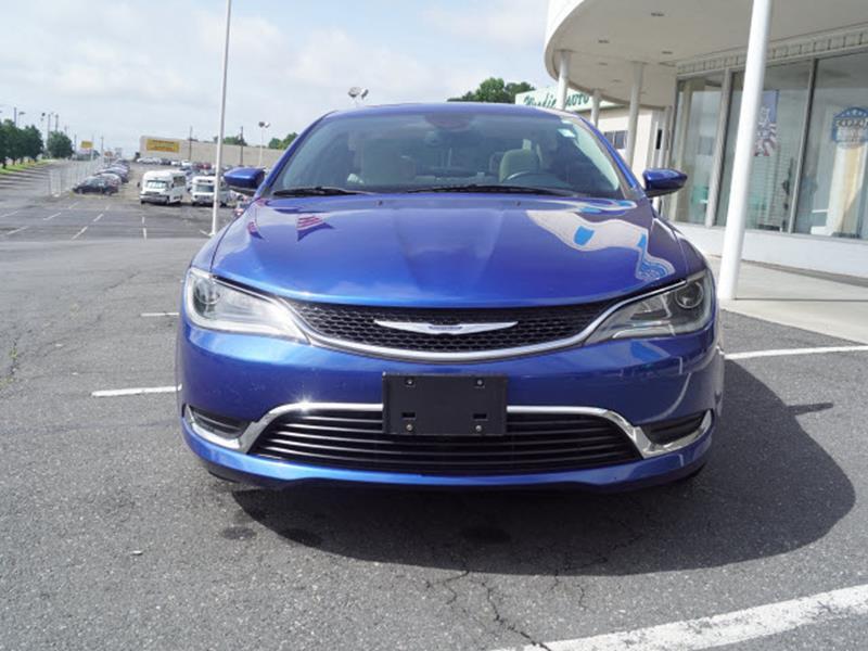 2015 Chrysler 200 Limited 4dr Sedan - Charlotte NC