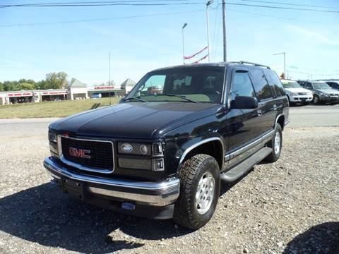 1999 GMC Yukon for sale in Lancaster, OH