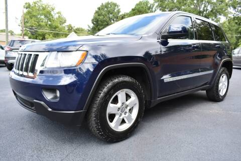 2012 Jeep Grand Cherokee for sale at Apex Car & Truck Sales in Apex NC