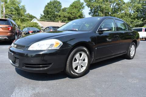 2008 Chevrolet Impala for sale at Apex Car & Truck Sales in Apex NC