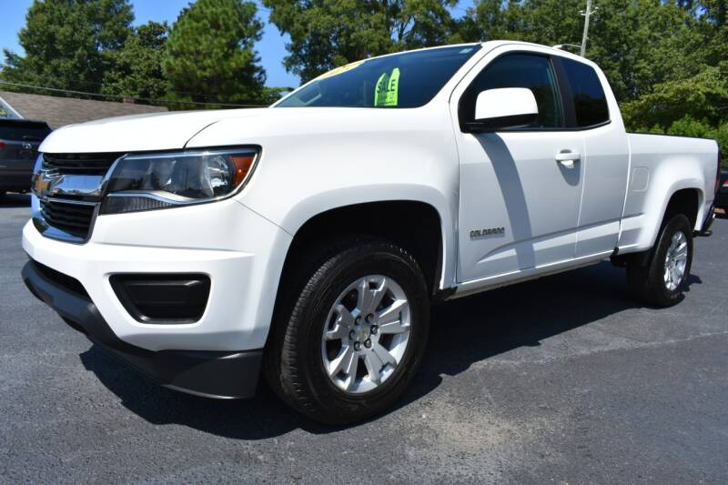 2018 Chevrolet Colorado for sale at Apex Car & Truck Sales in Apex NC