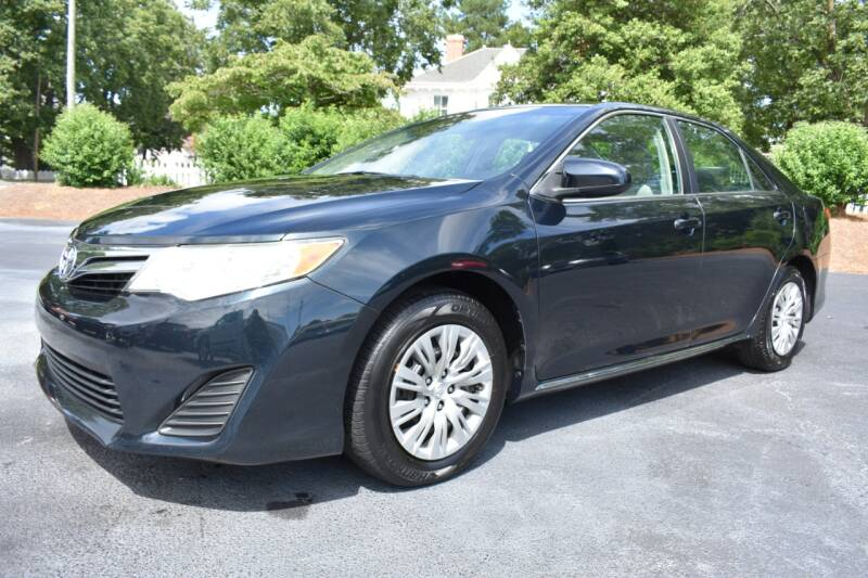 2014 Toyota Camry for sale at Apex Car & Truck Sales in Apex NC