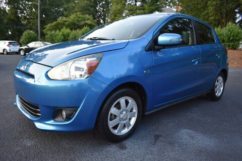 2015 Mitsubishi Mirage for sale at Apex Car & Truck Sales in Apex NC